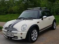 Mini Cooper White Panoramic Roof Alloys Aircon