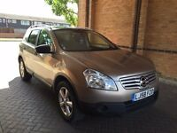 NISSAN QASHQAI +2 7 SEATER PETROL MANUAL FAMILY CAR EXCELLENT DRIVE PANORAMIC ROOF NOT KUGA ZAFIRA