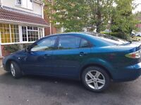 Mazda 6TS2, Stunning pearlescent blue, One owner, full service history