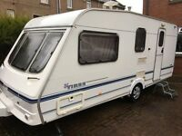 2000 Swift Island Tiree 4 Berth Caravan with Powertouch Motor Mover located in Fife Scotland