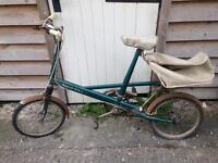 Moulton deluxe bike 1964