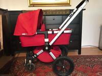 Red Bugaboo Gecko buggy/ stroller/ pushchair/ pram