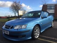 SAAB AERO 9-3 93 210BHP 2.0T, HPI CLEAR 6 SPEED, CRUISE, CONVERTIBLE, XENONS 11 MONTHS MOT, 2 KEYS