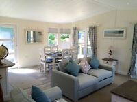 Riverside Lodge with Stunning Views near Windermere Lake District. Luxury Modern High Specification