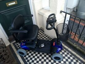 Drive Medical St1D Mobility Scooter - Portable - Blue