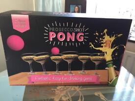 1 brand new boxes of Prosecco Pong