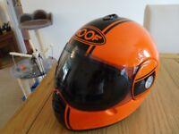 Small size Roof Daytona crash helmet with case