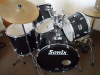 Sonix Drum Kit - Lovely Condition - Rarely Used