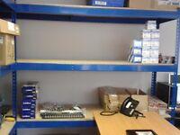 Heavy duty storage shelves for shed, garage, office, storage, workshop