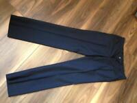 Topman men's skinny black trousers 28s