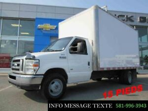 2011 Ford CUTAWAY E-350 CUBE 15 PIEDS