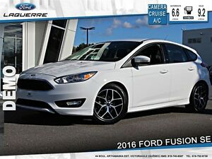2016 Ford Focus SE*AUTOMATIQUE*CAMERA*CRUISE*58.25$/SEM**