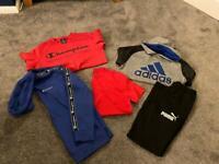 11-12 boys bundle champion puma Tommy Hilfiger adidas