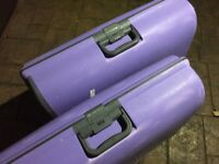 2 x 20 to 23kg Lilac Hard Cases