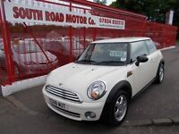 MINI ONE 1.4*IN IVORY WHITE*TOTALLY IMMACULATE*ALLOYS*FULL YEARS MOT*LOW MILEAGE*GREAT VALUE *£4995*