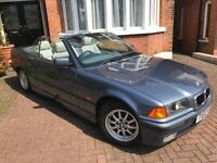 BMW 323i E36 Convertible 1999 *1 owner from new* *Low miles* *Full service history*