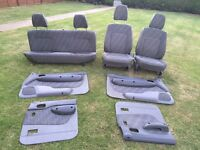 Ford Ranger 2002 Interior Seats And Side Door Panels, V.G.C. Free Delivery In Norwich,