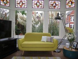 Yellow MADE Jonah 2 Seater Sofa