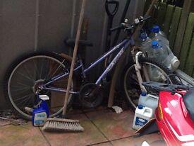 raleigh krush 18inch girls bike
