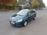 Vauxhall Zafira 1.6 i 16v Club 5dr (07 REG) - 84000 low mileage+Full Service History+12 Months MOT