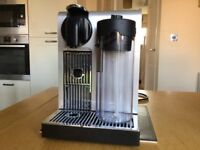 Nespresso Lattissima Pro coffee machine in excellent condition with box