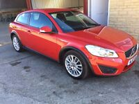 Stunning Volvo C30 Drive E Lux. 47k, 1 owner full service history. 12 month warranty. £0 road tax!