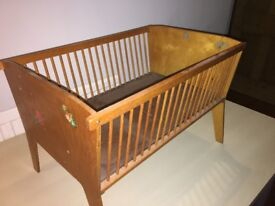 Wooden Dolls cot for sale