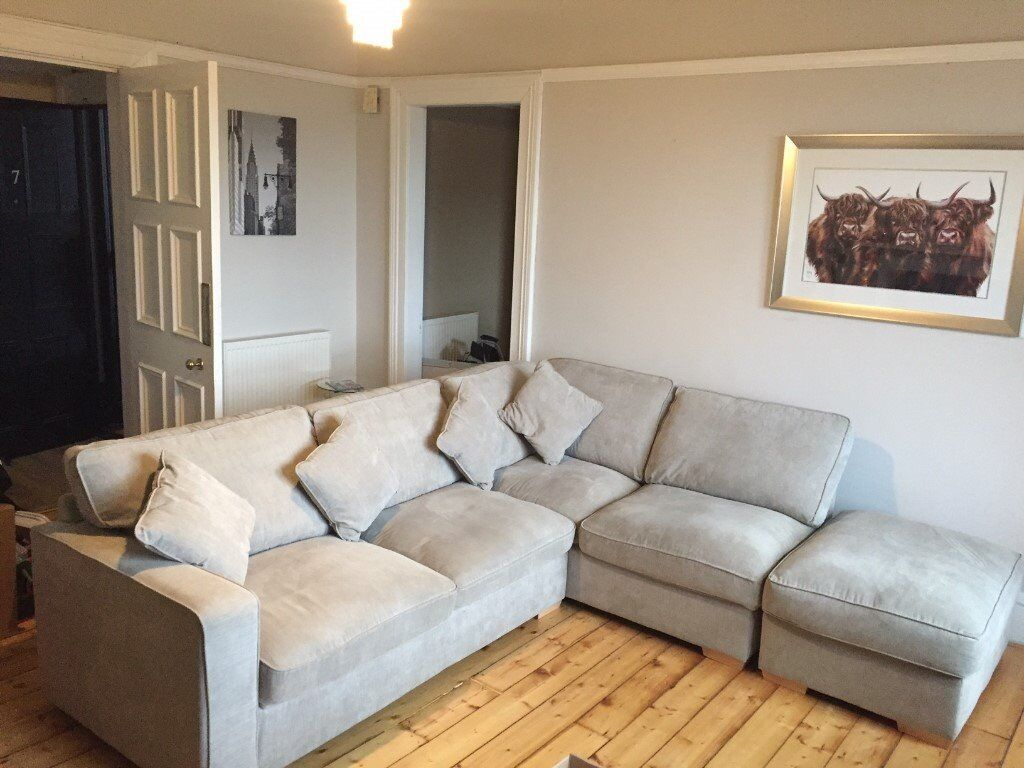 corner sofa in dowanhill glasgow gumtree. Black Bedroom Furniture Sets. Home Design Ideas