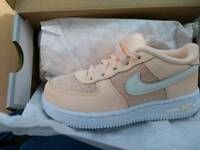 Brand new air force 1 trainer's - size 9.5 infant's - paid £42