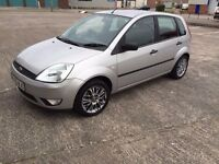 Ford fiesta zetec 12months mot service history cheap on fuel tax big boot tidy cd alloy £695