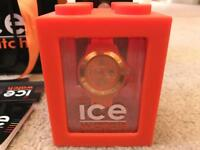 Original Ice Watch SI.OE.S.S.09 Unisex Small Orange Silicone Strap