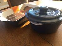 New ceramic casserole dishes