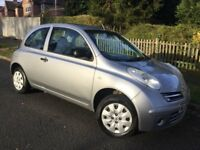 Nissan Micra 1.2i S 3dr with FSH & long MOT !