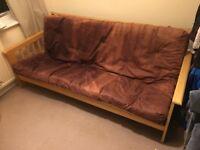 Sofa Bed - Futon - £25