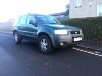 *** ford maverick 2004 4x4 swap px car van ***