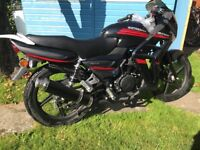 Direct-Bikes DB125-15A , 125cc motor-cycle Brand new & unregistered