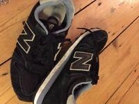 "New balance ""N"" black trainers"