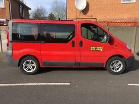 Vauxhall Vivaro diesal Wolverhampton taxi plated