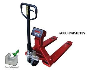 NEW Industrial warehouse truck / pallet jack scale with 5000 lb capacity - BRAND NEW - FREE SHIPPING