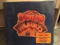 New-Travelling Wilburys Limited Edition 2xCD & 1 DVD Collection, sealed & numbered, blue