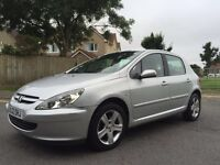 PEUGEOT 307 HDI 2.0 litre DIESEL hatchback with 12 MONTHS MOT