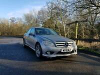 *BARGAIN* 2010 MERCEDES C220 CDI AMG SPORT - AUTO DSG, HEATED LEATHERS, HPI CLEAR FULLY LOADED
