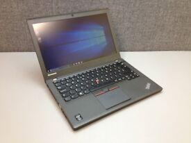 Lenovo Thinkpad UltraBook X250 laptop Intel Core i5 5th gen processor 256gb SSD hard drive
