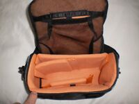 MEDIUM SIZED CAMERA CASE. ALL COMPARTMENT DIVIDERS ARE THERE. AS NEW CONDITION