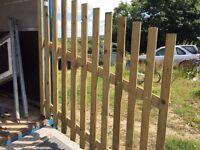 Horsebox ramp gates