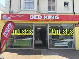 👑 🛏️ **SALE NOW ON** Beds, Headboards & Mattresses – Bed King Portslade (next to Aldi) 👑 🛏️
