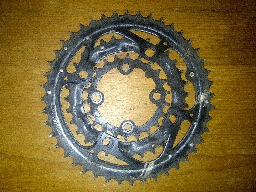 Truvative chainrings 104 BCD 3x