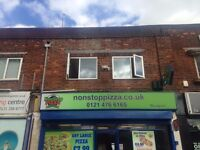 2 Bed Flat Above Pizza Shop To Let
