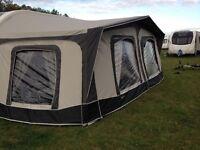 Bradcot residencia 23ft caravan awning