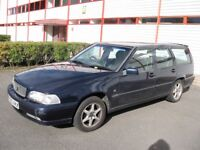 Volvo V70 Estate Car. Petrol. Manual. 1997. 133,000 miles. MOT to December 5th 2017.